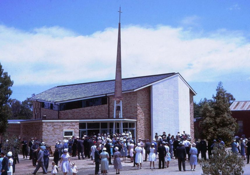 001 ST PAULS LUTHERAN CHURCH Henty -dedication 1963